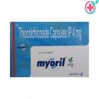 Myoril 4 Capsules (Thiocolchicoside 4mg)