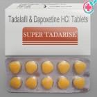 Super Tadarise (Tadalafil 20mg / Dapoxetine 60mg)