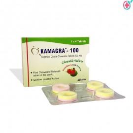 Kamagra Chewable (Sildenafil Citrate)