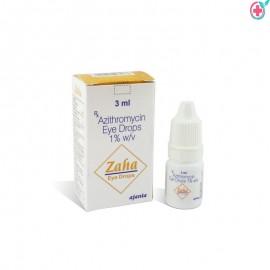 Zaha Eye Drop (Azithromycin)- 3 ml