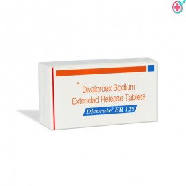 Dicorate ER (Divalproex Sodium) 125 mg