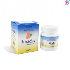 Viraday Tablet (Emtricitabine 300mg/Tenofovir 200mg/Efavirenz600mg)