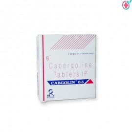 Cabgolin 0.5mg Tablets (Cabergoline 0.5mg)