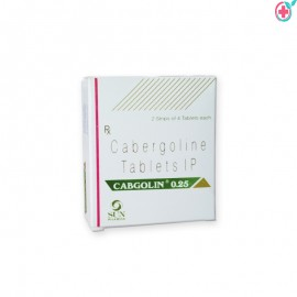 Cabgolin 0.25mg Tablets (Cabergoline 0.25mg)