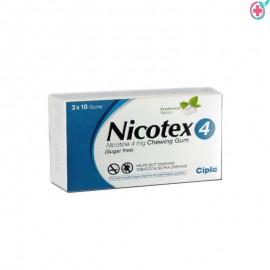 Nicotex 4 (Nicotine 4mg)
