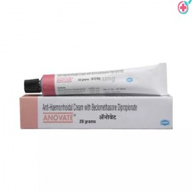 Anovate Cream 20gm (Beclometasone 0.025% / Lidocaine 2.5% / Phenylephrine 0.10%)