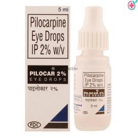 Pilocar Eye Drops 5ml (Pilocarpine 2%)