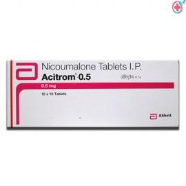 Acitrom 0.5 (Nicoumalone 0.5mg)