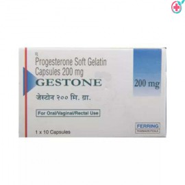 Gestone 200 Soft Gelatin Capsule (Progesterone 200mg)