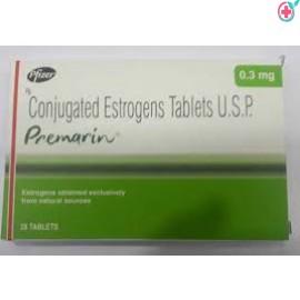 Premarin 0.30mg Tablets (Conjugated Estrogen 0.30mg)
