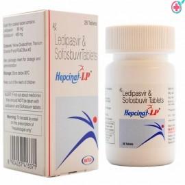 Hepcinat LP (Ledipasvir 90mg/Sofosbuvir 400mg)