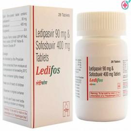 Ledifos Tablets (Ledipasvir 90mg/ Sofosbuvir 400mg)