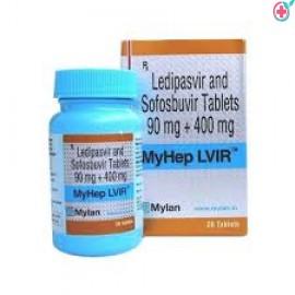 Myhep LVIR (Ledipasvir 90mg/ Sofosbuvir 400mg)