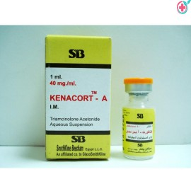 Kemacort Injection 40 (Triamcinolone 40mg)