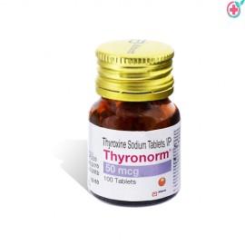 Thyronorm 50 (Thyroxine Sodium 50mcg)
