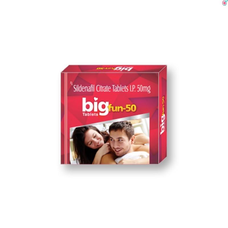 Bigfun 50mg (Sildenafil Citrate)