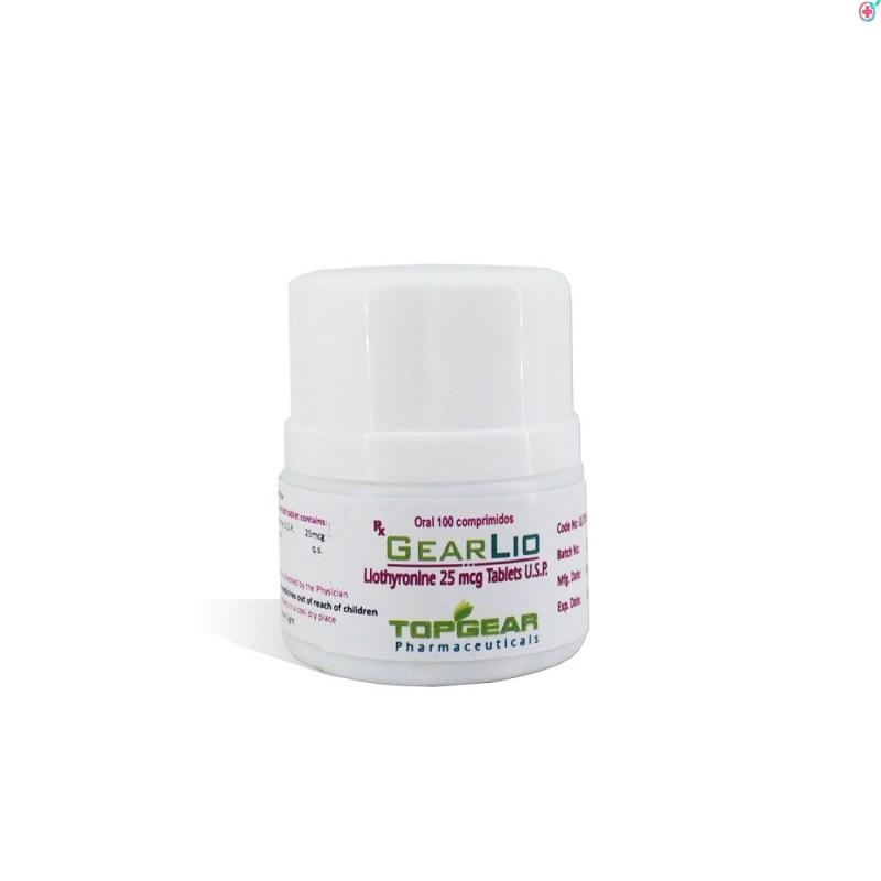 Liothyronine 25mcg (GearLio)