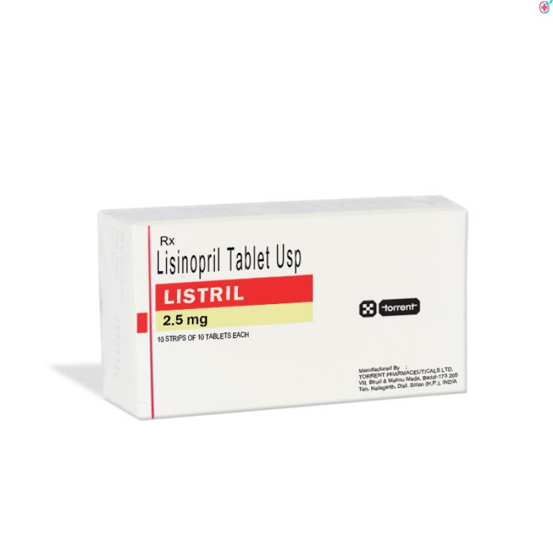 Listril 2.5 (Lisinopril 2.5mg)