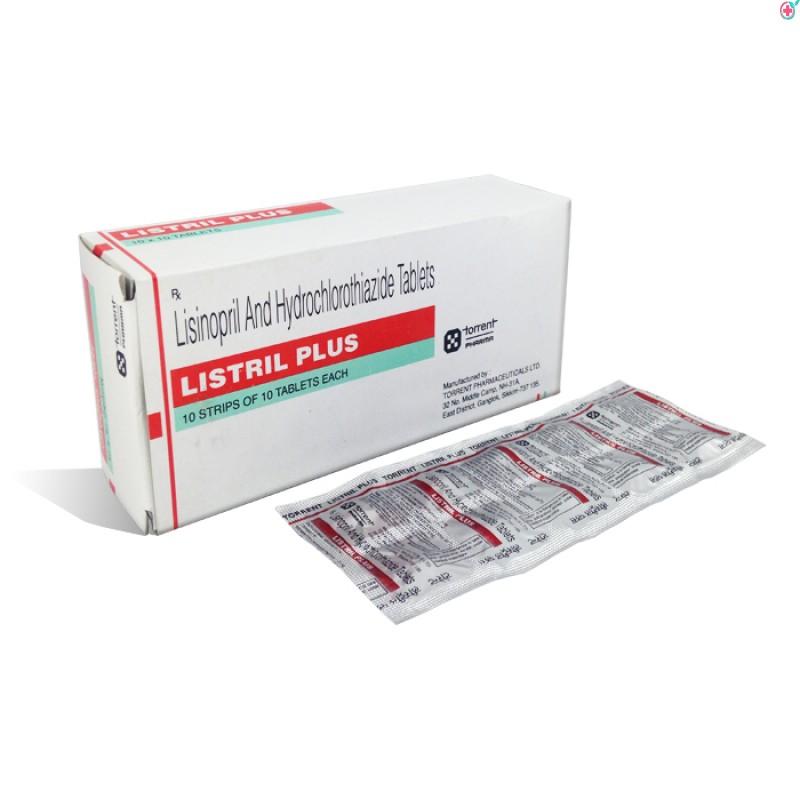 Listril Plus (Lisinopril 5mg/ Hydrochlorothiazide 12.5mg)