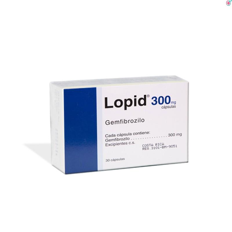 Lopid 300 mg