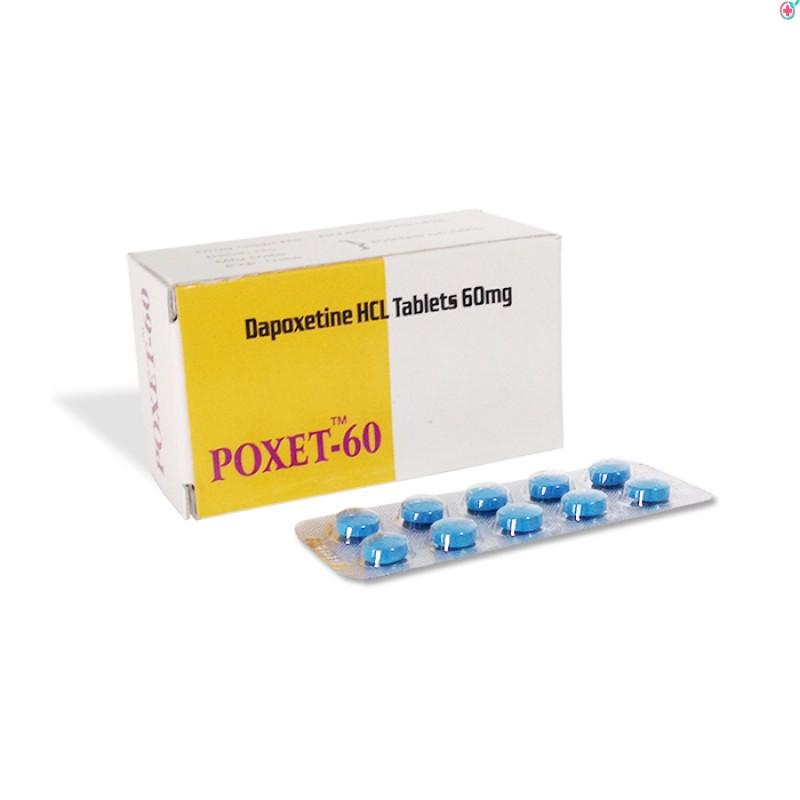 Poxet 60 mg (Dapoxetine 60mg)
