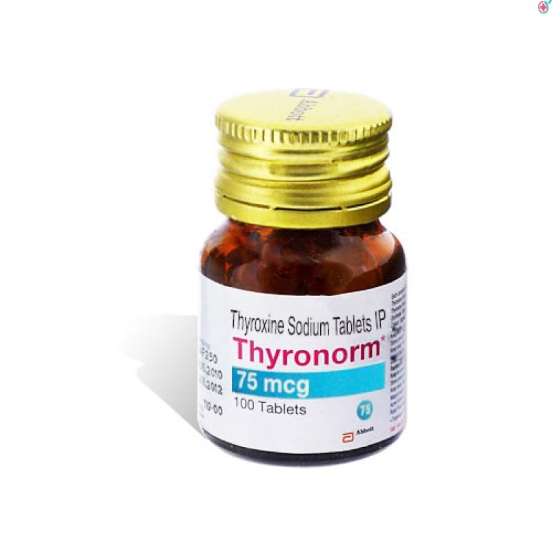 Thyronorm 75 (Thyroxine Sodium 75mcg)