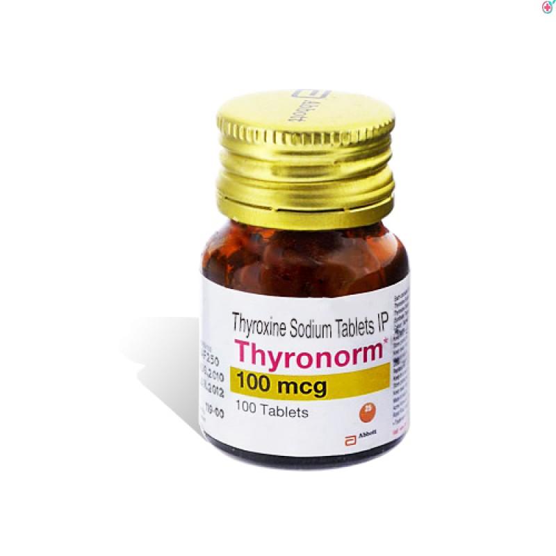 Thyronorm 100 (Thyroxine Sodium 100mcg)