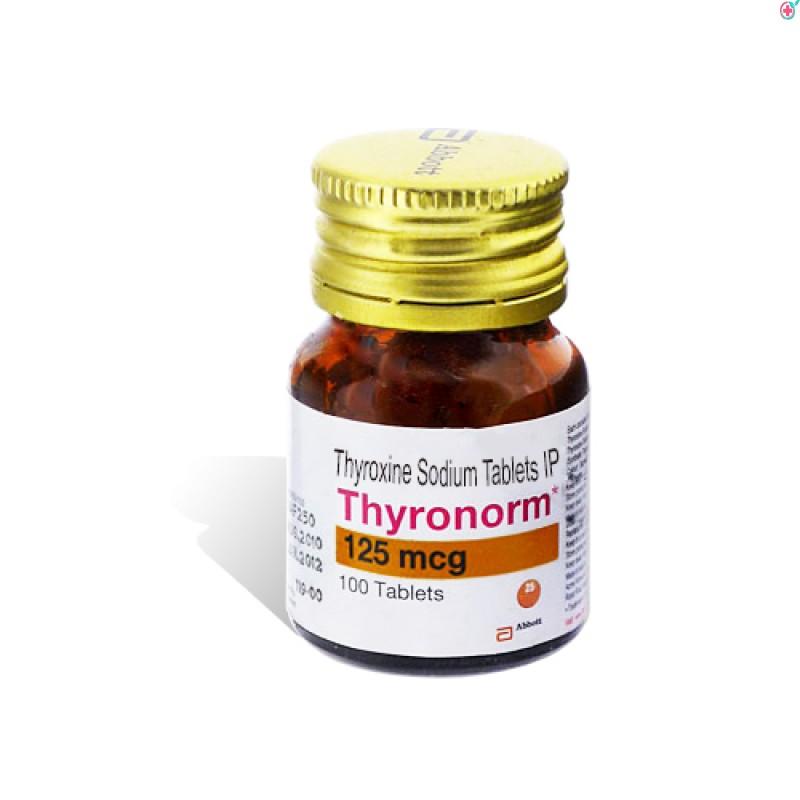 Thyronorm 125 (Thyroxine Sodium 125mcg)