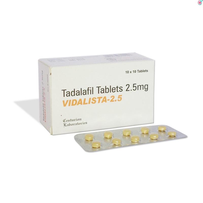 Vidalista 2.5 (Tadalafil 2.5mg)