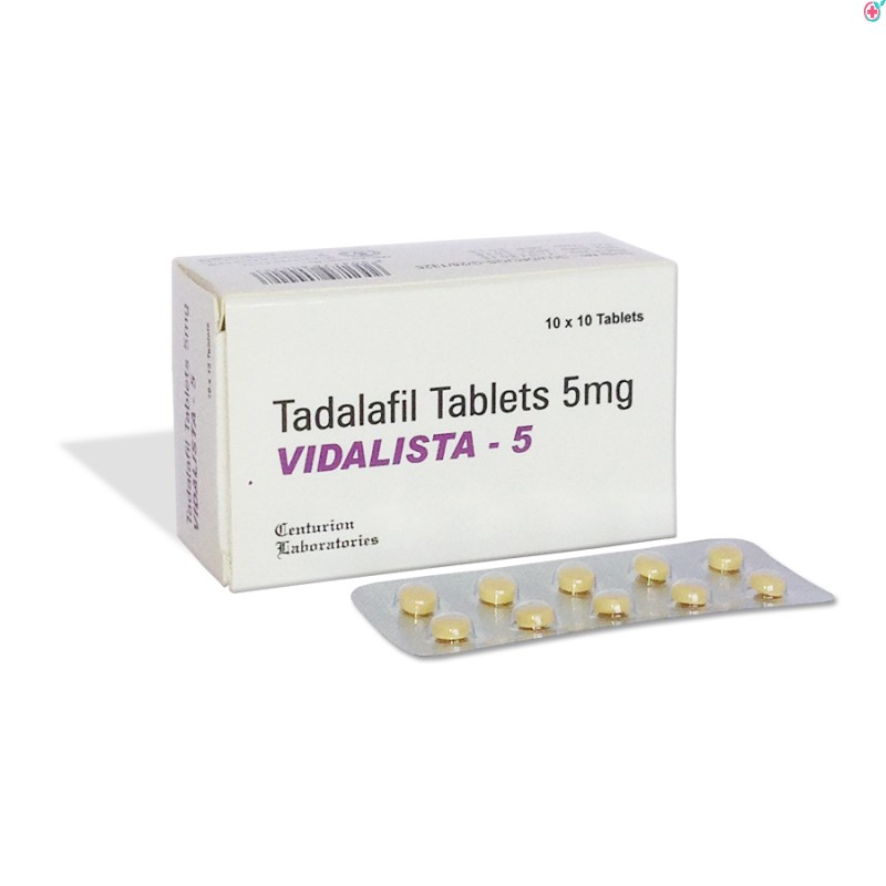 Vidalista 5 (Tadalafil 5mg)