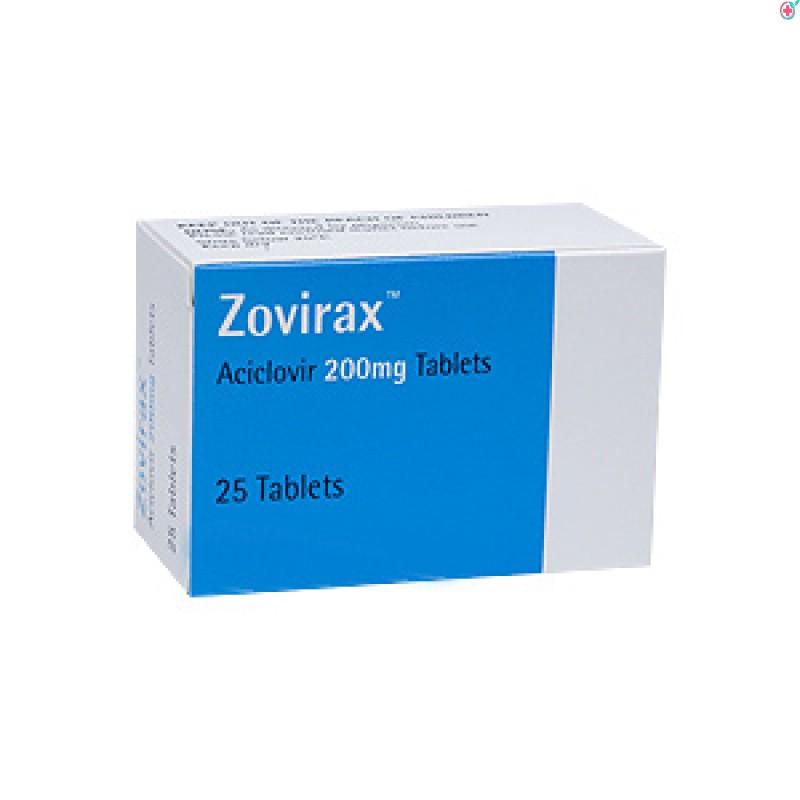 Zovirax 200 (Acyclovir 200mg)